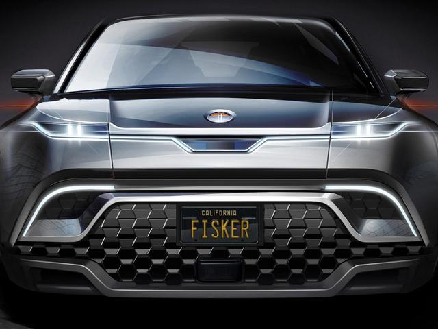 El SUV eléctrico de Fisker tiene una mandíbula gigantesca