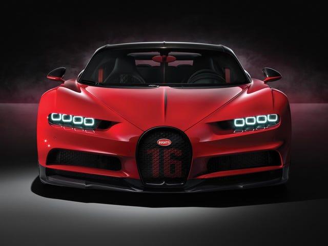 Masa Berlari untuk Beli Diri Bugatti Chiron Baru