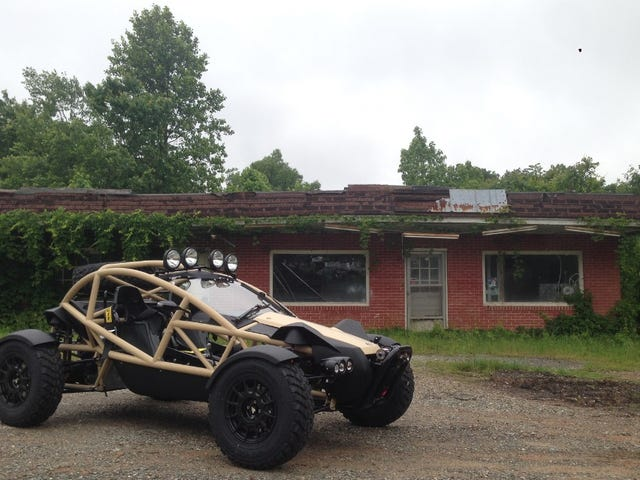 Take A Ride In The First American Ariel Nomad With Us Right Now!