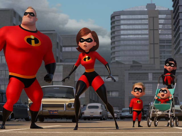 Weekend Box Office: Incredibles 2 soars with the biggest animated opening of all time