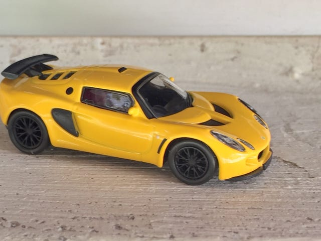 Thursday on the Thames : Kyosho 1/64 Lotus Exige 'Yellow'
