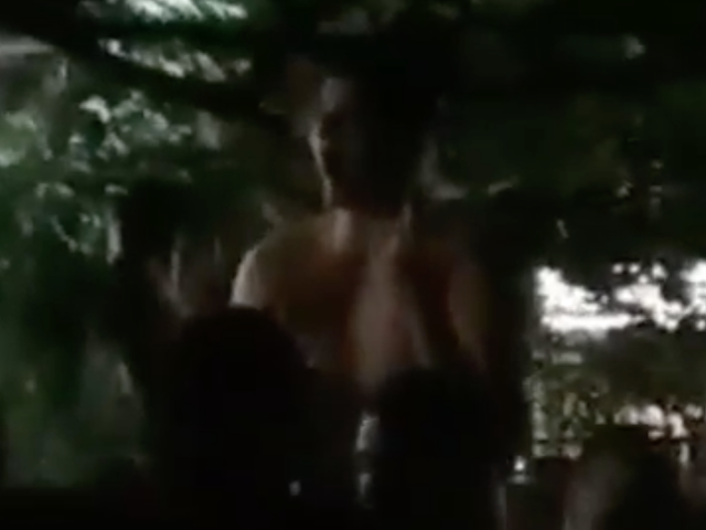 Shirtless Nikola Jokić Jubilantly Dances Under A Big Tree