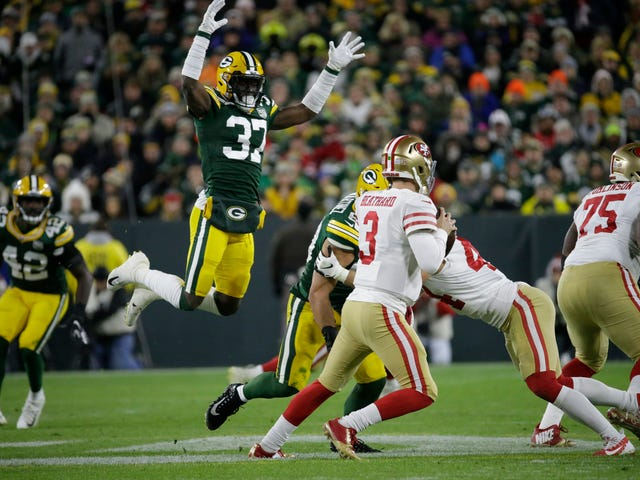 The Packers' All-Out Blitz Won The Day
