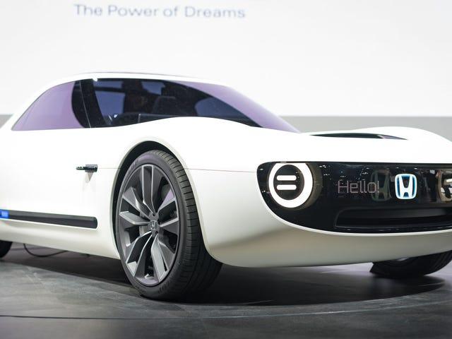 Que pensez-vous qu'il se passera dans le monde des voitures en 2018?