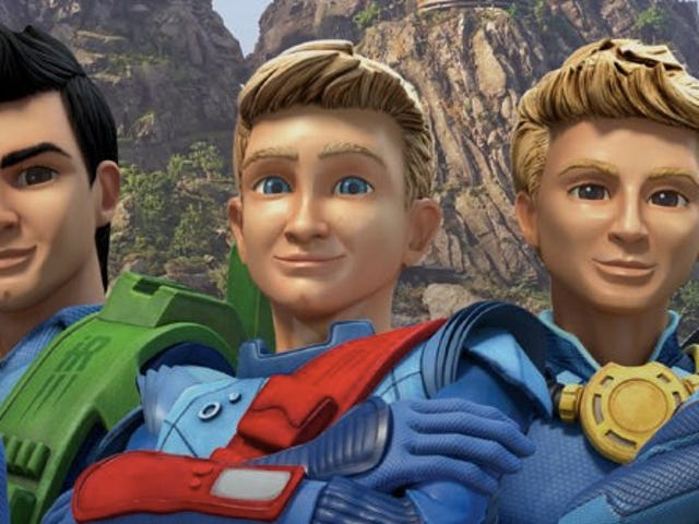 Stare Into the Cold, Dead Eyes Of Your New Thunderbirds