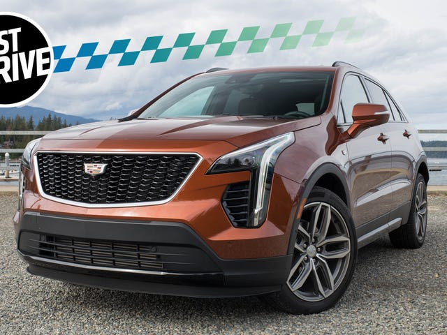 The 2019 Cadillac XT4 Tries Really Hard to Be a Fun Car