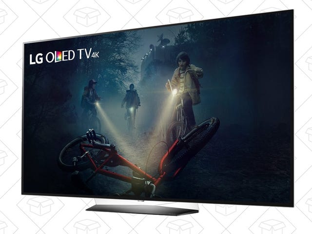 Fall Into the Black Hole Of These OLED TV Deals