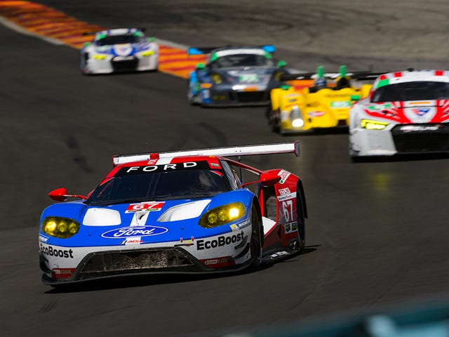 How (And Why) American Sportscar Racing Teams Are Intentionally Slowing Down
