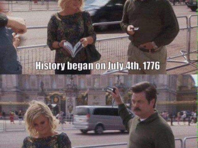 Ευτυχισμένη γενέθλια Αμερική