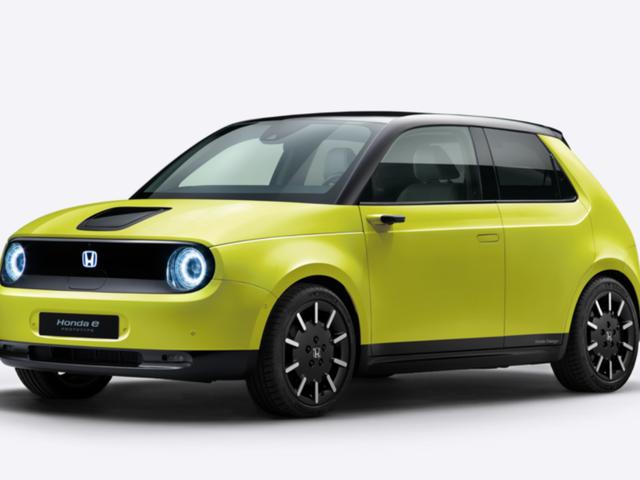 The All-Electric Honda E Comes in Five Delightful Colors