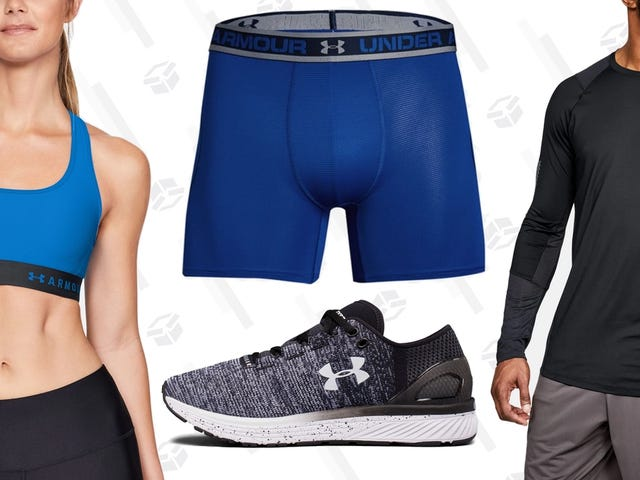 Build Your Summer Workout Wardrobe With An Extra 30% Off Under Armour Outlet Orders Over $100