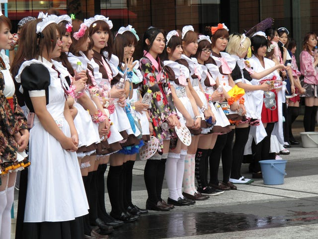 Japanese Maid Outfits, A Serious Look