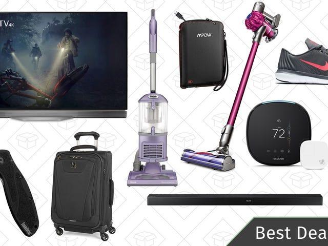 Le migliori offerte di venerdì: TV OLED, aspirapolvere Dyson, termostati intelligenti e altro ancora
