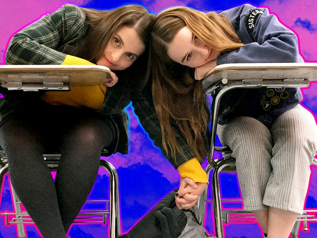 Kaitlyn Dever and Beanie Feldstein on becoming real-life BFFs on the set of Booksmart