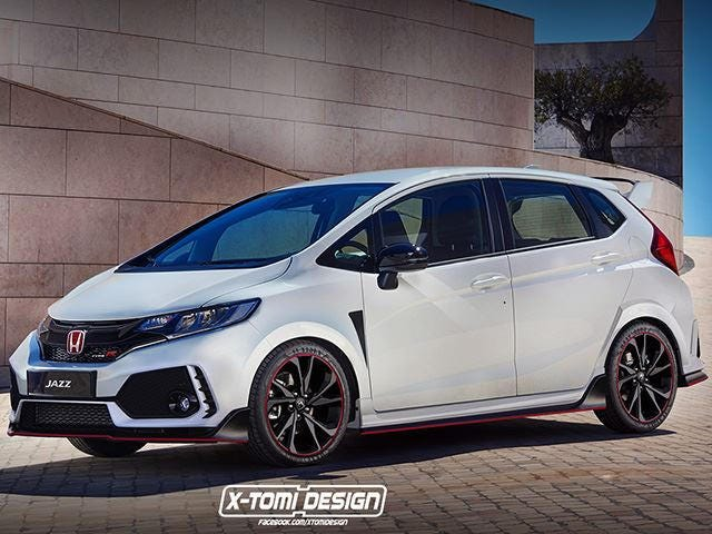 Can I have a Honda Fit Type R pls