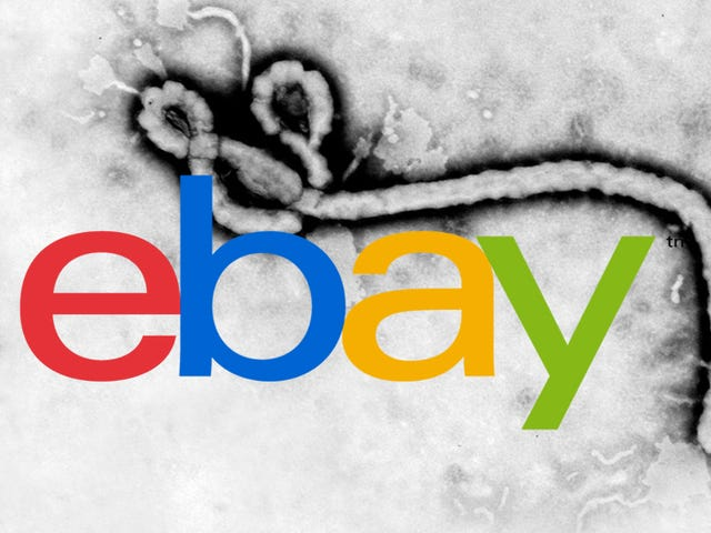 The original eBay.com hosted a page about Ebola