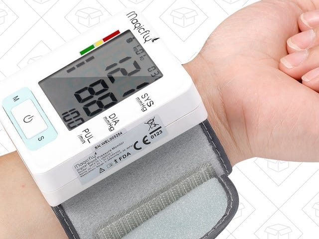 Keep An Eye On Your Blood Pressure As You Check Twitter Every Morning For Just $16