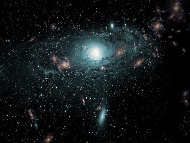 Onze Heartless Milky Way steelt sterren van andere sterrenstelsels