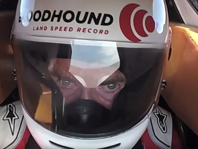 A New Onboard Shows The Bloodhound LSR Hit A Whopping 628 MPH