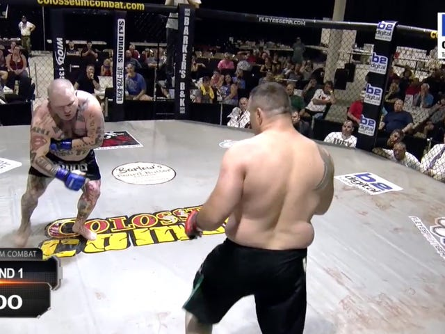 MMA Fight Somehow Gets Weirder After The Fake Heart Attack