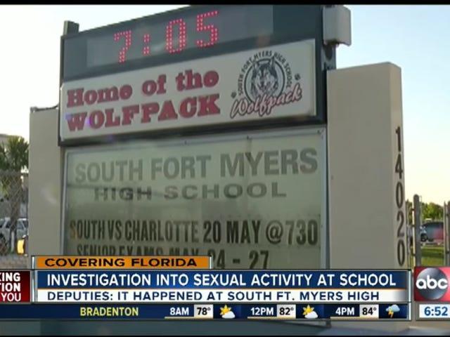 Ο παίκτης ποδοσφαίρου συνελήφθη μετά από τουλάχιστον 16 φοιτητές φέρεται να είχε σεξ με κορίτσι στο λουτρό HS