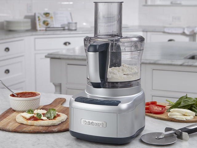 Slice Prep Work In Half With This Discounted Cuisinart Food Processor