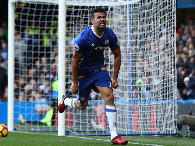 Diego Costa ve Eden Tehlikesi Yine Cehennem Gibi İyi
