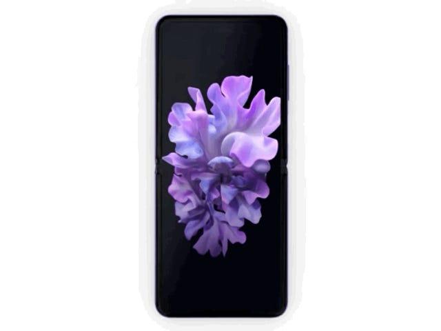Den nye Samsung Galaxy Z Flip sammenfoldelig glasskærm er her og koster 1.380 $