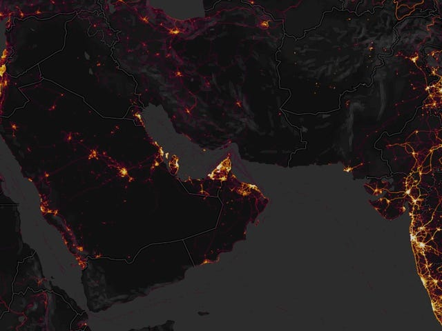 Fitness App's 'Anonymized' Data Dump Accidentally Reveals Military Bases Around the World