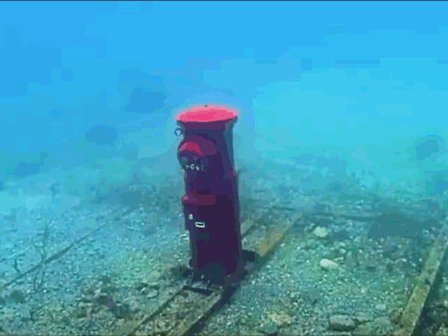 Por qué Japón tiene un buzón de correo totalmente funcional a 10 metros bajo el agua