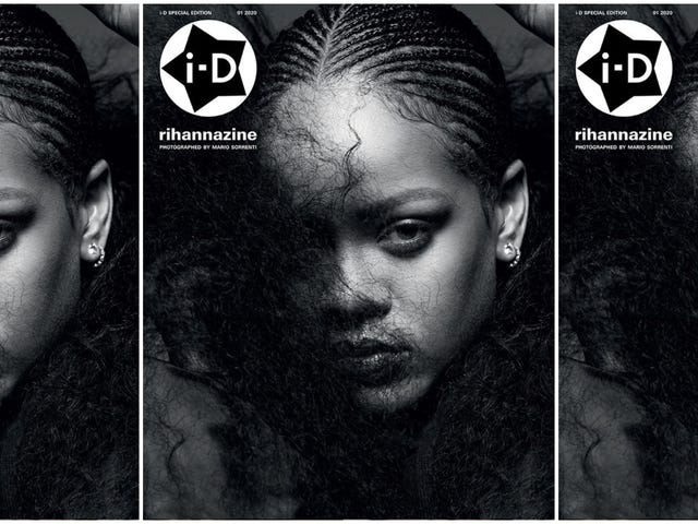 Because Too Much Rihanna Is Never Enough, There's Now a 'Rihannazine'