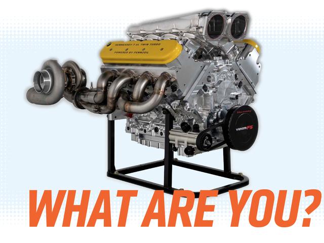 Hennessey's 1600 Horsepower Twin-Turbo V8 Mungkin Tidak Sepenuhnya Seperti Mereka Katakan