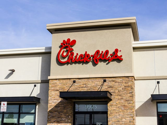 Y'all still really like eating at Chick-Fil-A, dontcha?