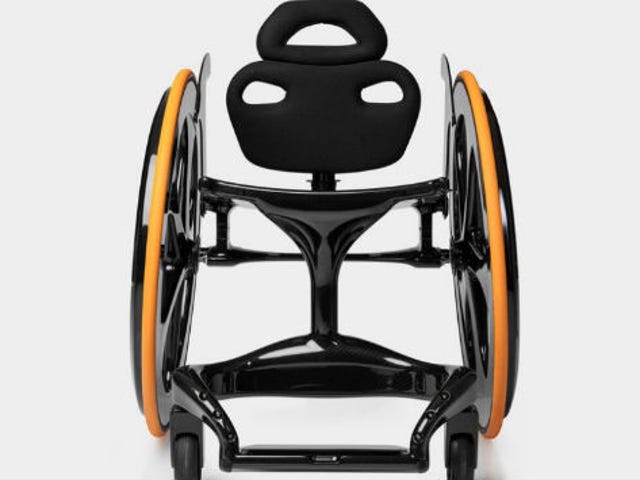 This Sleek Carbon Fiber Wheelchair Is What Professor X Would Use