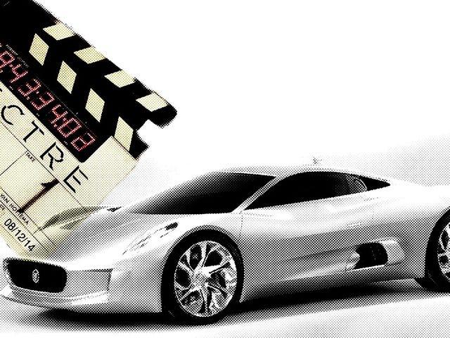The Jaguar C-X75 Concept Is Back! As A Bond Villain?