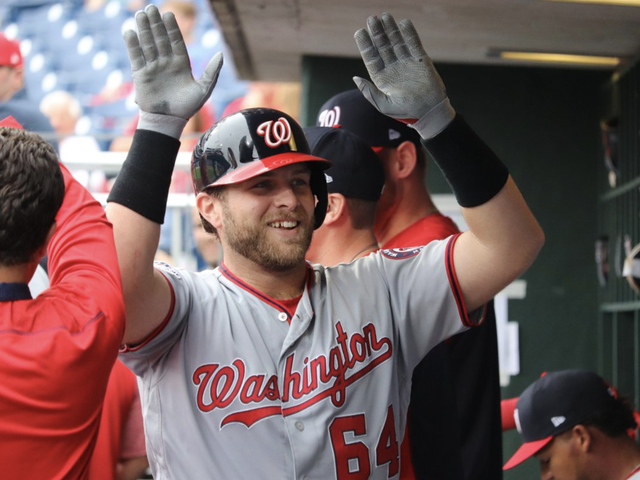 Nats Rookie Spits Out Tooth, Socks First Career Dinger [Update]