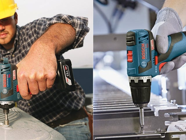 There's Never Been a Better Day to Upgrade to a Bosch Drill/Driver