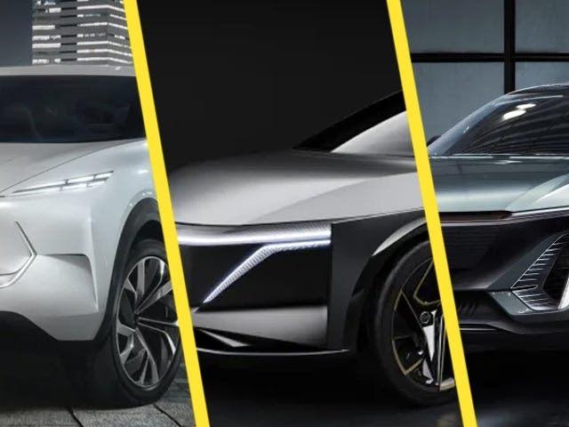 Three Automakers All Debuted the Same Electric SUV at the Detroit Auto Show