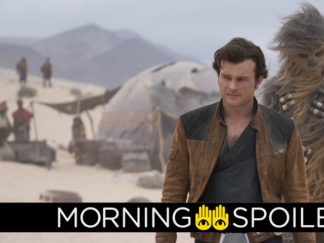 New Pictures From Solo: A Star Wars Story Seemingly Debunk Rumors of a Certain Character's Return