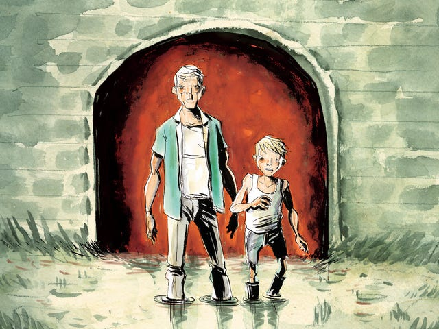 Jeff Lemire looks back and pushes forward in this Frogcatchers first look