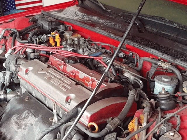 This Is What Happened To A Honda Prelude Engine Flooded In Hurricane Harvey