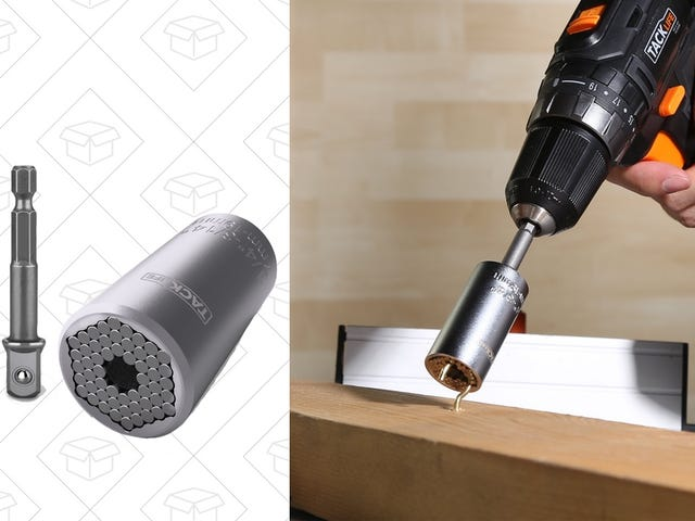 Get a Grip On Almost Any Bolt With This $8 Universal Socket Set