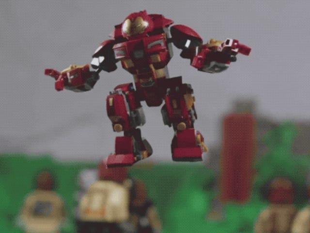 Esta escena de Avengers: Infinity War es casi más épica hecha en Lego