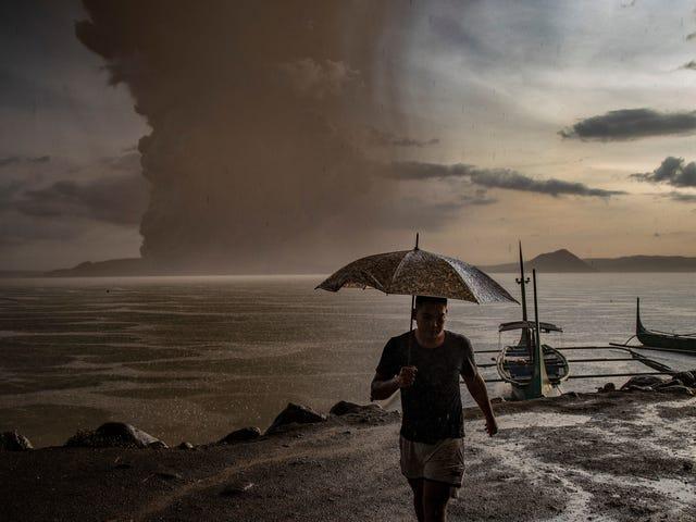 Warum der Taal-Ausbruch den Klimawandel nicht verlangsamt