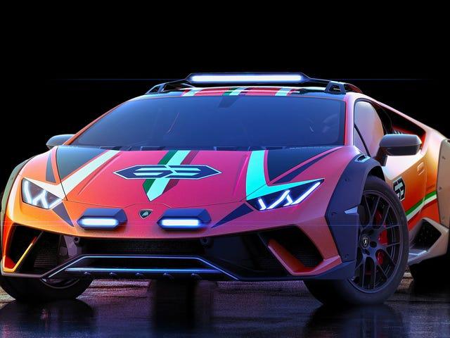 Todo el mundo se calla y disfruta de la gloria de este verdadero Lamborghini Huracan Safari Concept