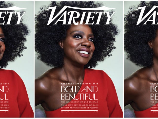 Aspiring to the A-List? Viola Davis Talks Inclusion, Inequities and Acting in Her Natural Hair