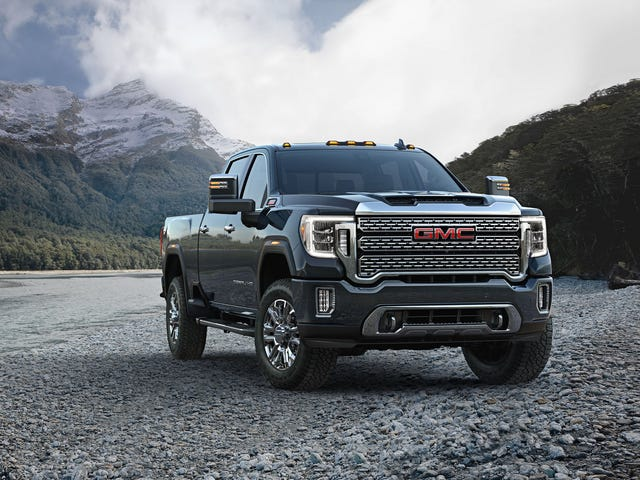 2020 Sierra HD. Check out that Bigly Yuge face!