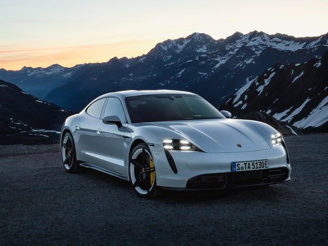Tämän vuoksi Porsche Taycan Turbo on tehottomin sähköauto