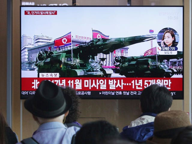 North Korea Launches 'Several' Unidentified Projectiles Amid Stalled Nuclear Talks