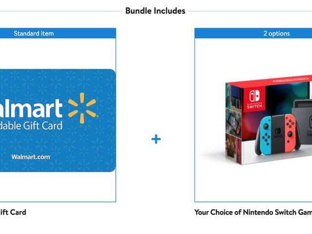 Buy a Switch, Get a $35 Walmart Gift Card For Free